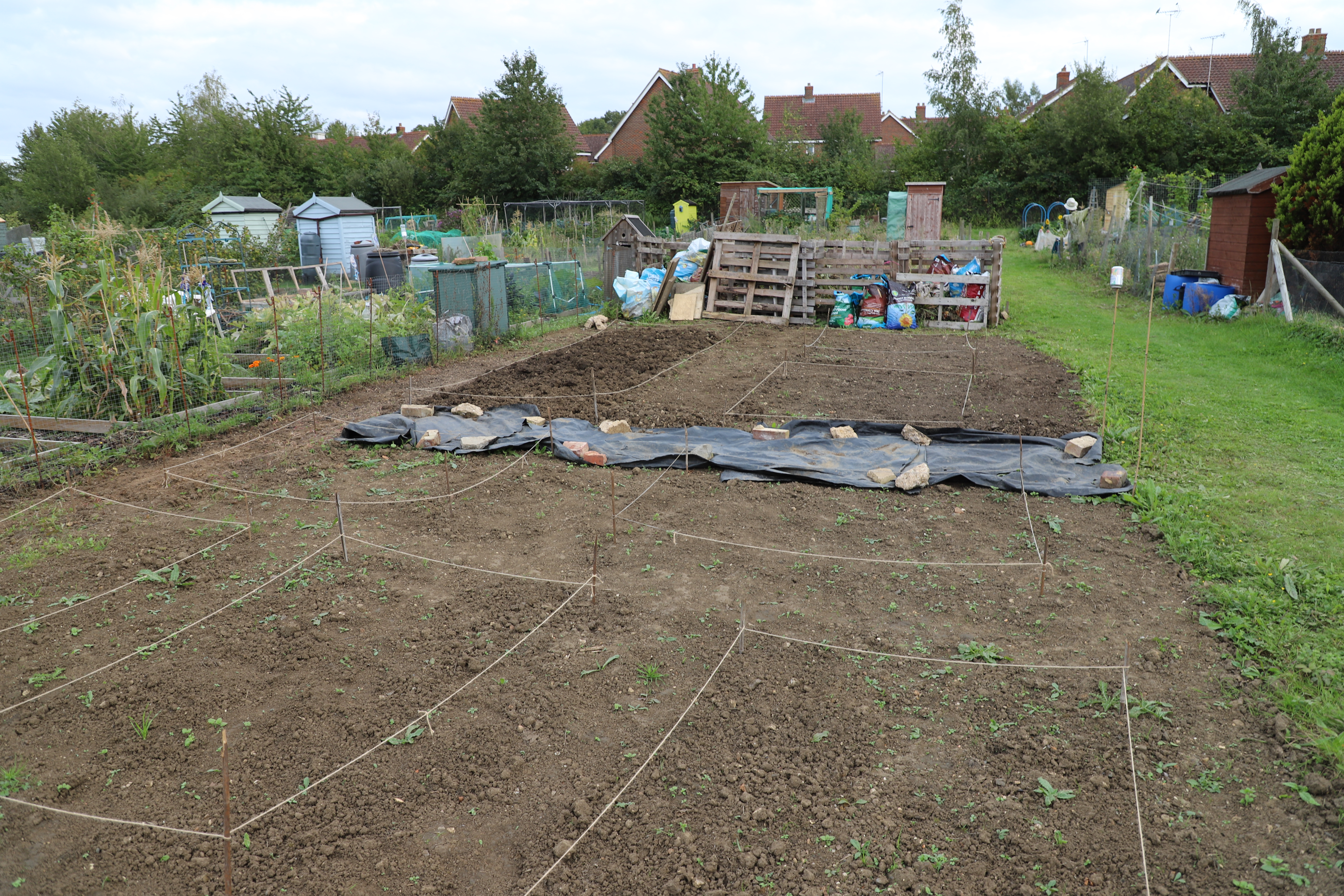 planning a allotment